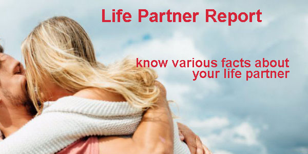 What Will My Life Partner Be Like Astrology, Life Partner Report