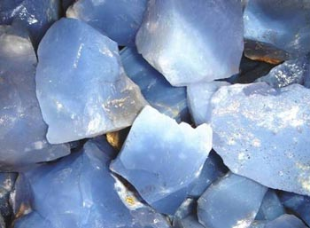 Blue Chalcedony Stone Crystal Meaning Healing