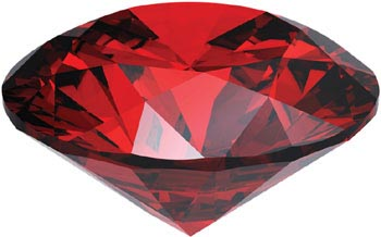 Wholesale Price Rose Garnet Stone Jewelry
